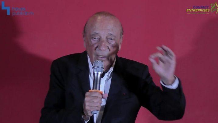 Conférence Jacques Séguéla : « La pub, c'est l'âme, la vibration »